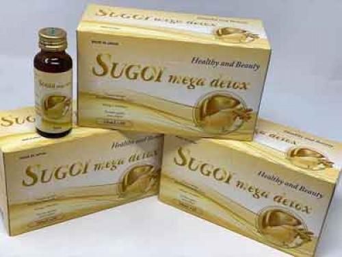 Sugoi Collagen and Sugoi mega detox